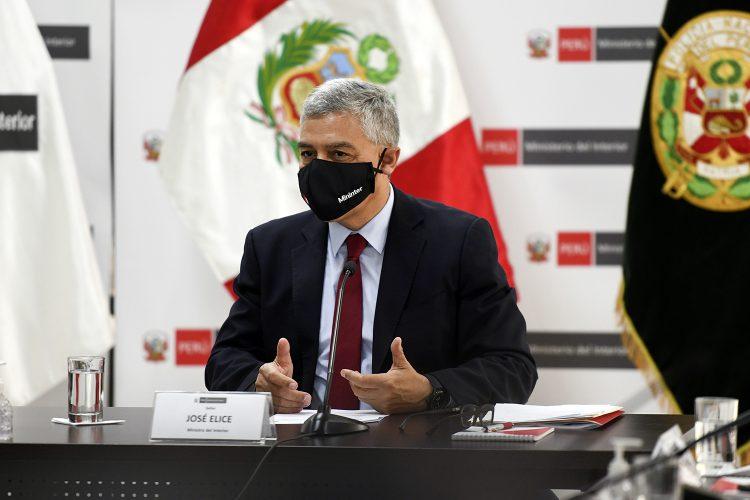 José Elice titular del Mininter Perú