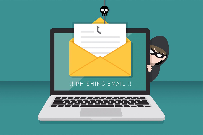 ciberseguridad campaña de phishing email
