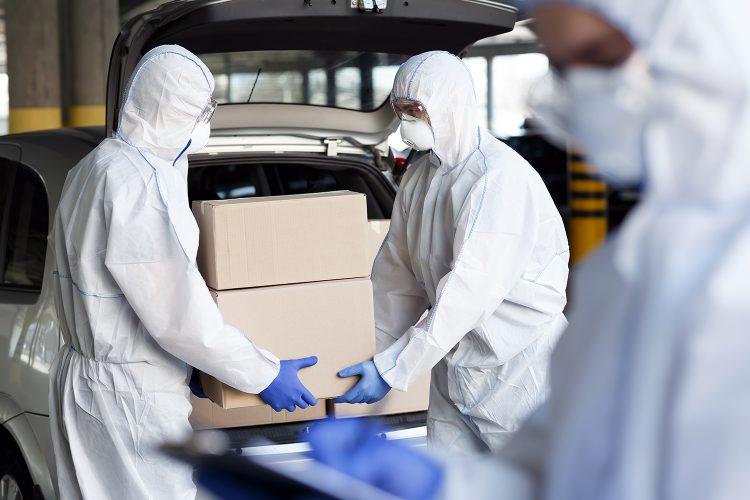 transporte de la vacuna del coronavirus