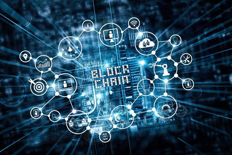 concepto de blockchain en el sector financiero