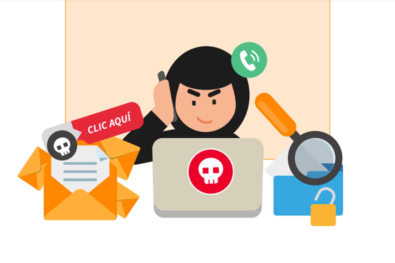 Día del Internet Seguro ciberataques de ingeniería social