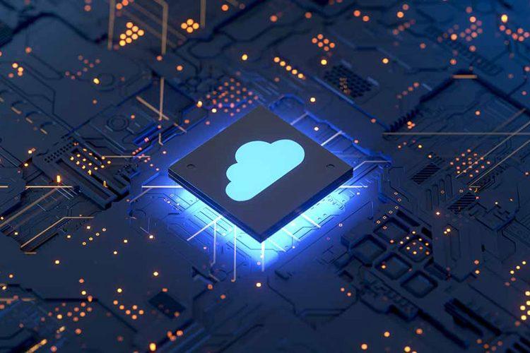 Concepto de ciberseguridad en la nube de Netskope
