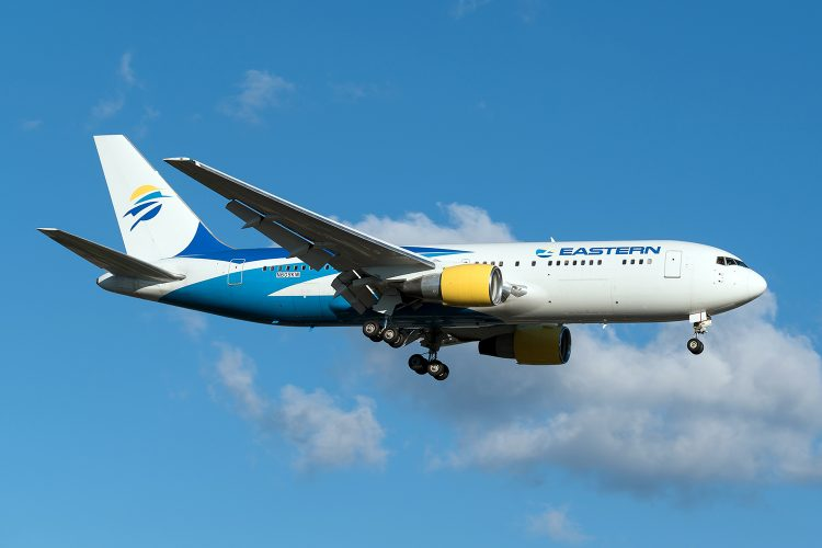 avión de Eastern Airlines