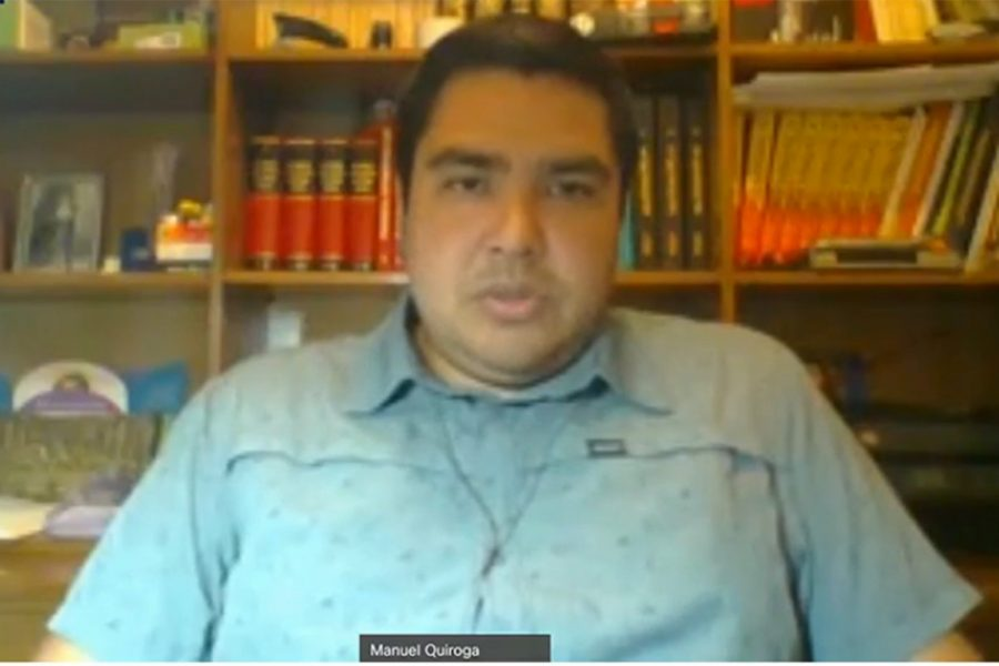Manuel Quiroga gerente de Security de Naturgy Chile