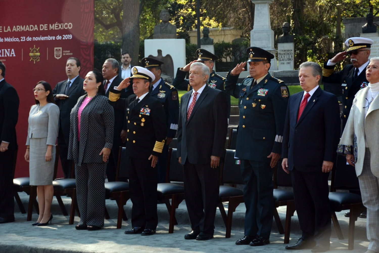 instalaciones estratégicas secretario de Marina y presidente del Gobierno de México