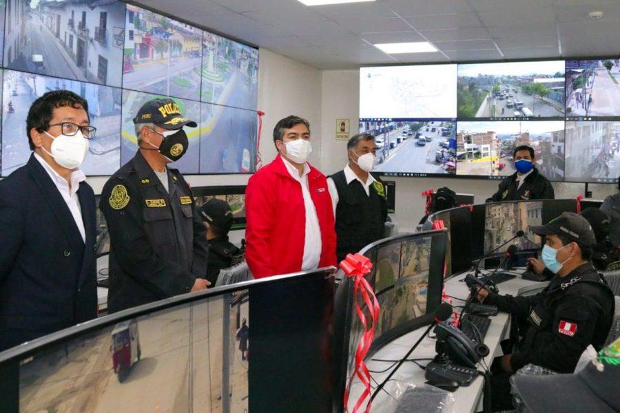 centro de monitoreo de Cajamarca