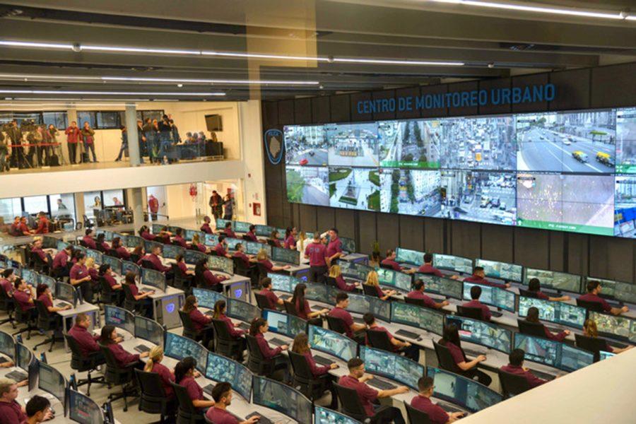 Centro de Monitoreo Urbano de Chacarita Buenos Aires