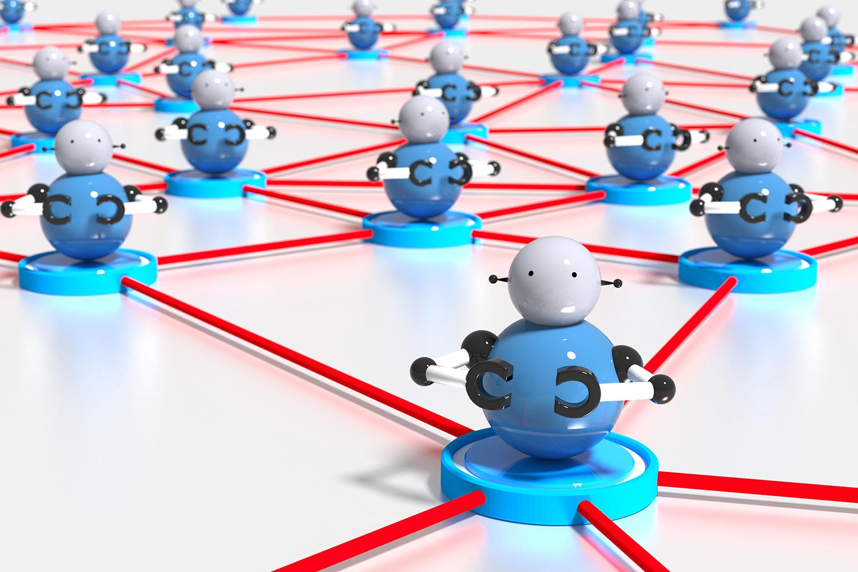 ciberseguridad concepto de botnets