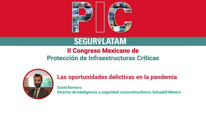 David Romero. II Congreso PIC México 2020