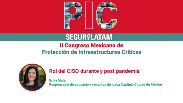 Erika Mata. PIC México 2020