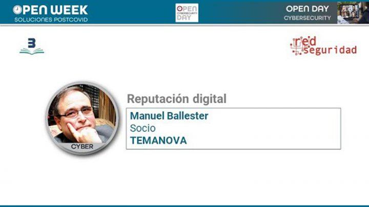 Manuel Balleste. Cybersecurity Day. Open Week 2020