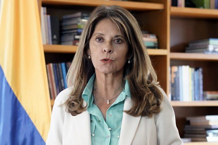 Marta Lucía Ramírez vicepresidenta de Colombia