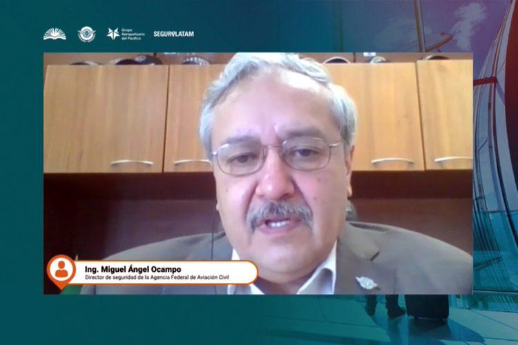 Miguel Ángel Ocampo director de Seguridad de la Agencia Federal de Aviación Civil (AFAC) de México