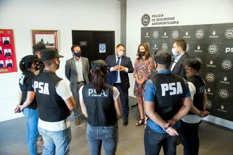 presentación del Área de Ciberdelitos de la Policía de Seguridad Aeroportuaria de Argentina