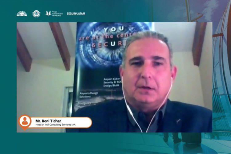 Roni Tidhar jefe de Servicios de Consultoría Internacional de la Autoridad Aeroportuaria Israelí