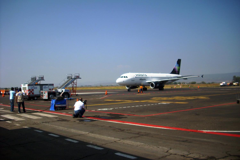 el Grupo Eulen presta servicio en el aeropuerto mexicano de Morelia