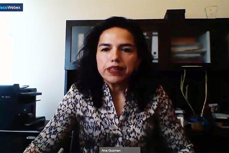 Ana Luisa Guzmán directora de Seguridad Corporativa de GICSA
