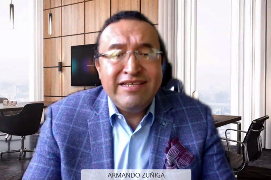 Armando Zúñiga Salinas coordinador de Agrupaciones de Seguridad Unidas por un México Estable (Asume)