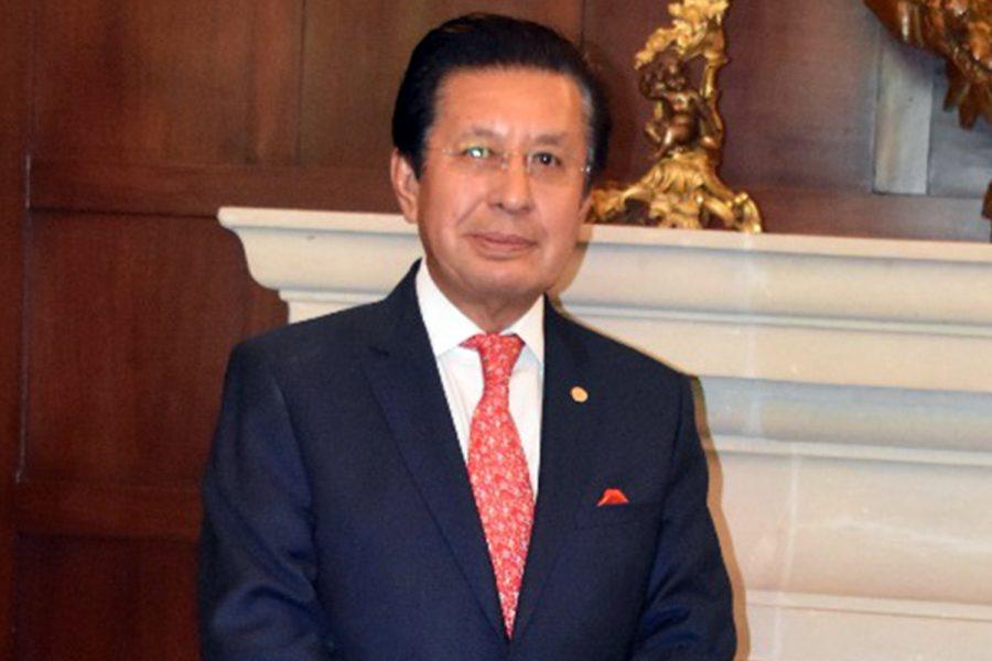 Salvador López Contreras presidente de la Asociación Mexicana de Empresas de Seguridad Privada (Amesp)