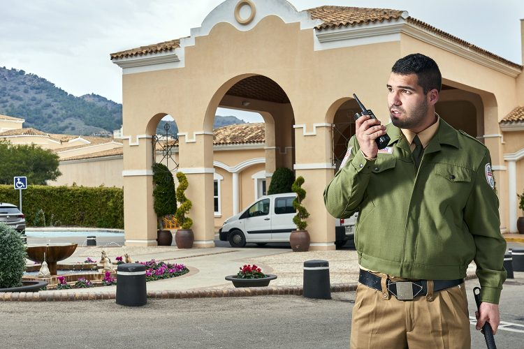 vigilante de seguridad privada de Eulen Seguridad