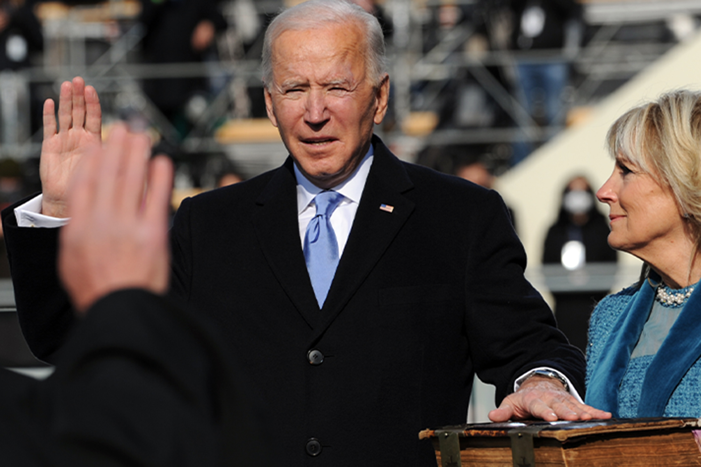 el presidente estadounidense Joe Biden