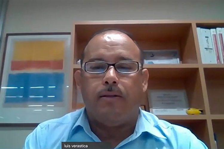 Luis Enrique Verástica Casillas gerente de Inteligencia y Prevención del Delito del Grupo Coppel