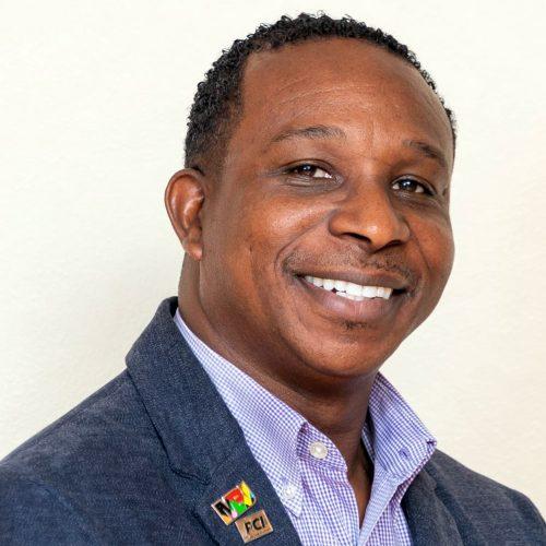 Peter Hall jefe de Seguridad del Aeropuerto Internacional de Sangster (Montego Bay)