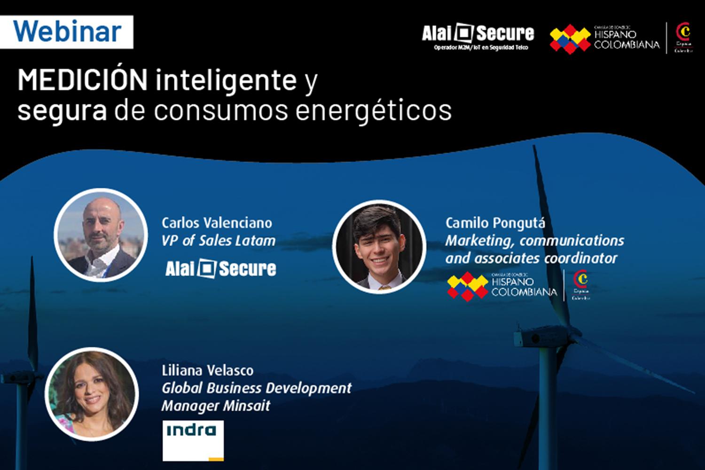 webinar de Alai Secure en Colombia sobre medición inteligente y segura de consumos energéticos