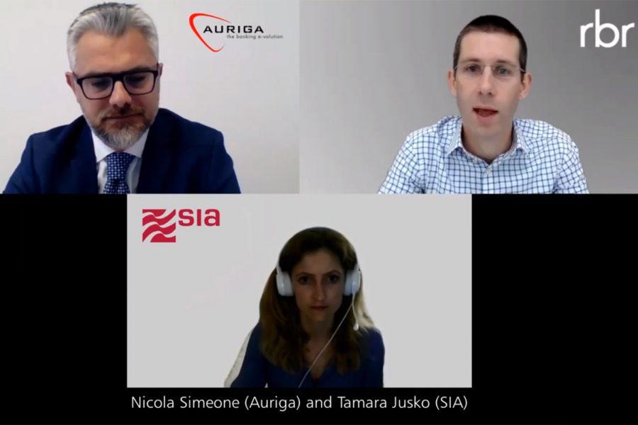 presentación de Auriga en Self-Service Banking