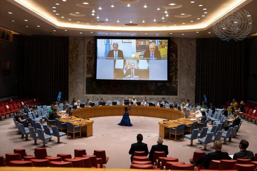 reunión del Consejo de Seguridad de la ONU