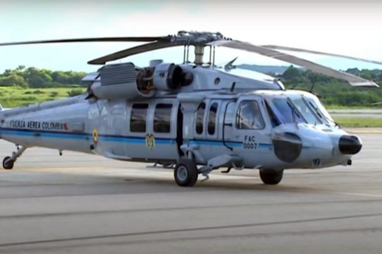 Sikorsky UH-60 Black Hawk, el helicóptero de Iván Duque