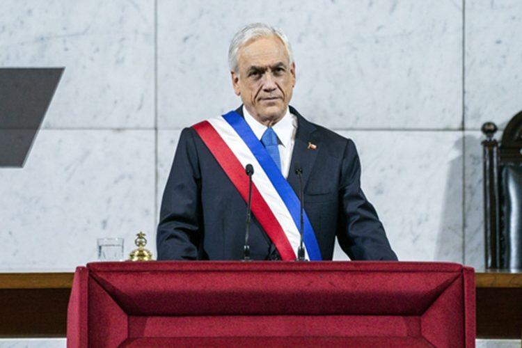 el presidente chileno Salvador Piñera