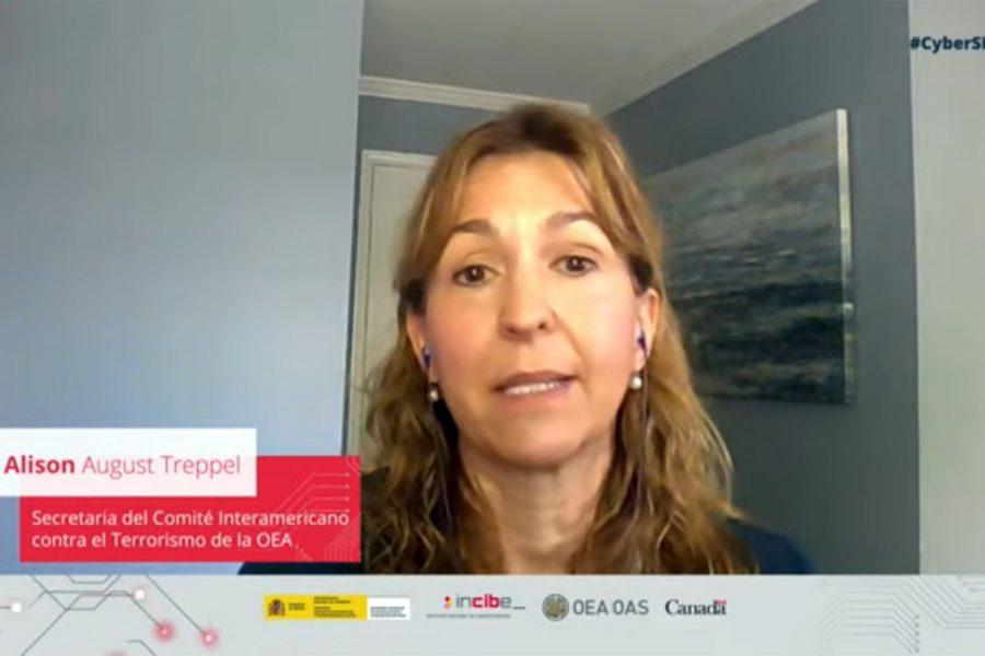 Alison August Treppel, secretaria del Comité Interamericano contra el Terrorismo (CICTE) de la OEA