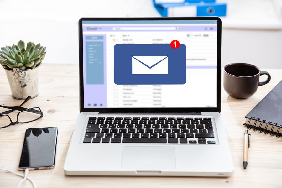 bandeja de entrada del correo electrónico