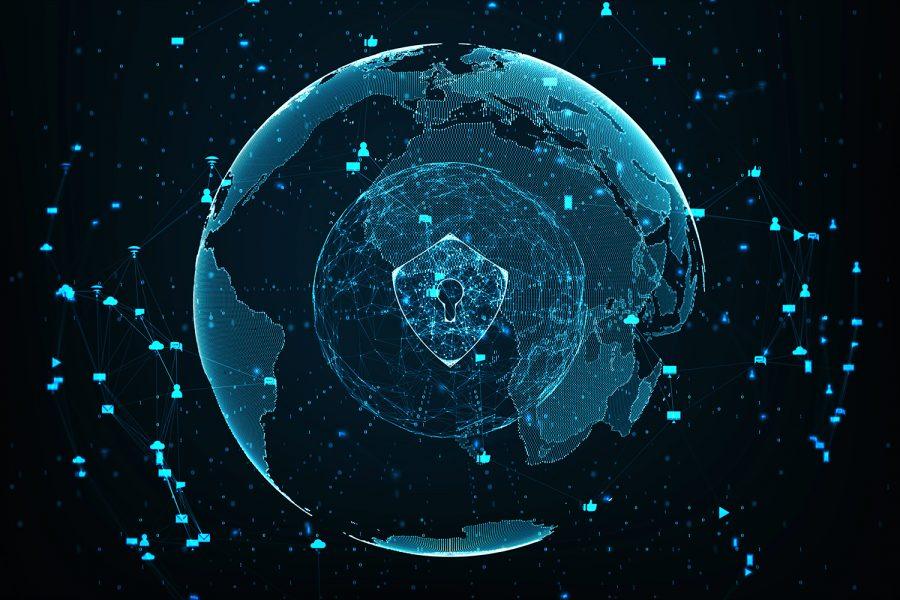 concepto de ciberseguridad global