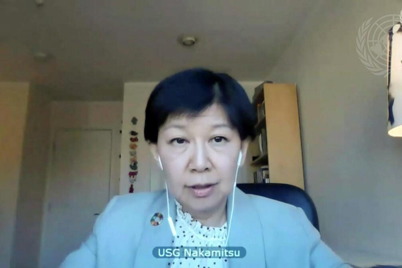 Izumi Nakamitsu directora de Desarme de las Naciones Unidas (ODA)
