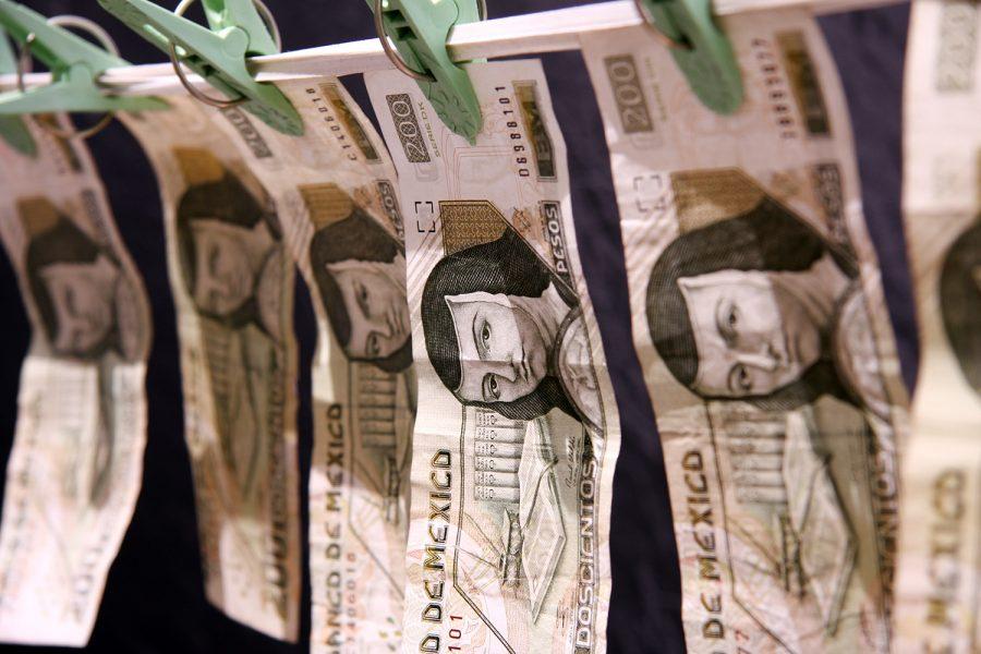 lavado de dinero pesos mexicanos