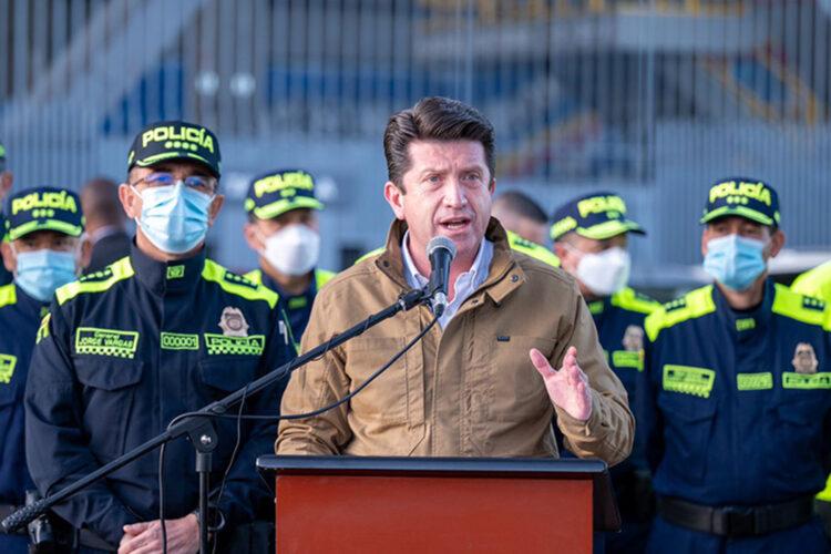 Diego Molano Aponte ministro de Defensa de Colombia
