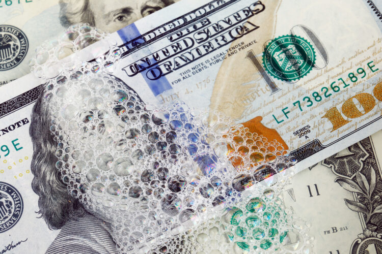 lavado de dinero dólares