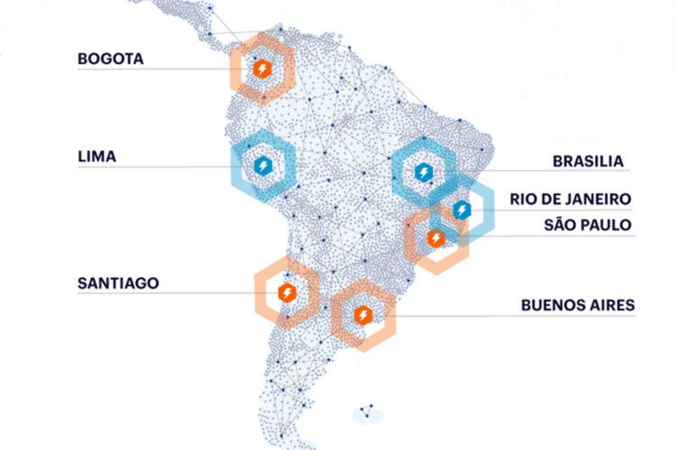 centros de datos de Netskope en América Latina