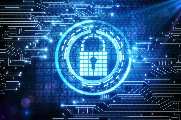candado de ciberseguridad