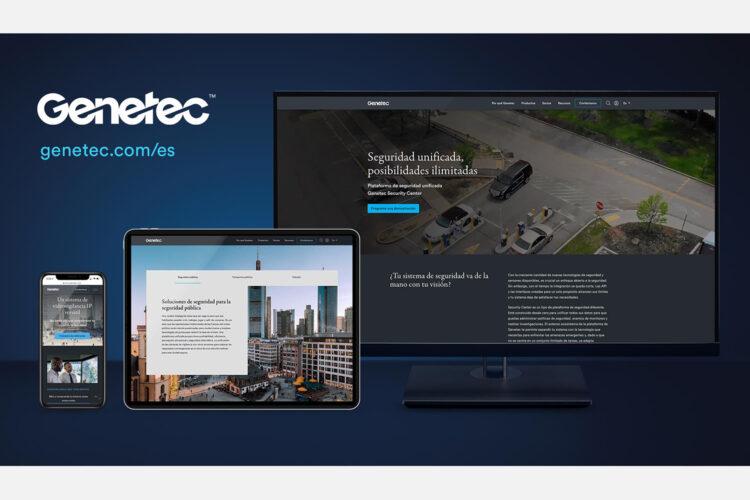 nueva página web de Genetec en español