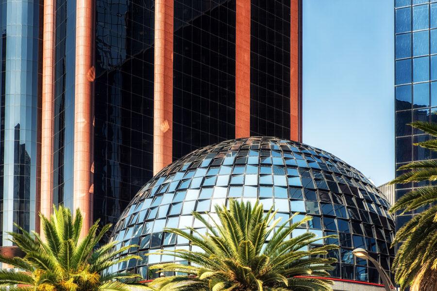 Edificio sede de la Bolsa Mexicana de Valores (BMV) en la Ciudad de México