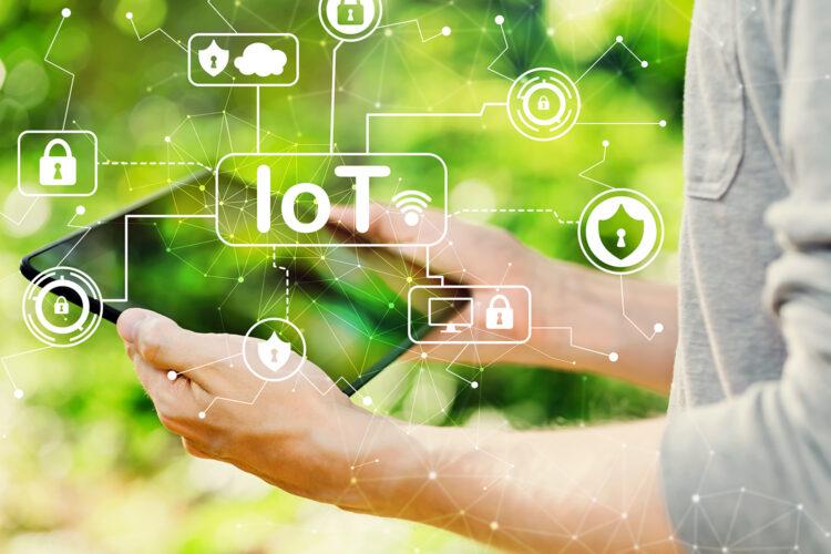 concepto de seguridad IoT