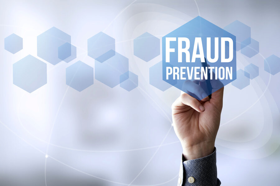 concepto de prevención del fraude