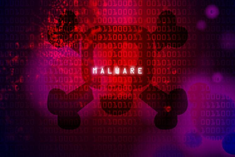 representación de malware